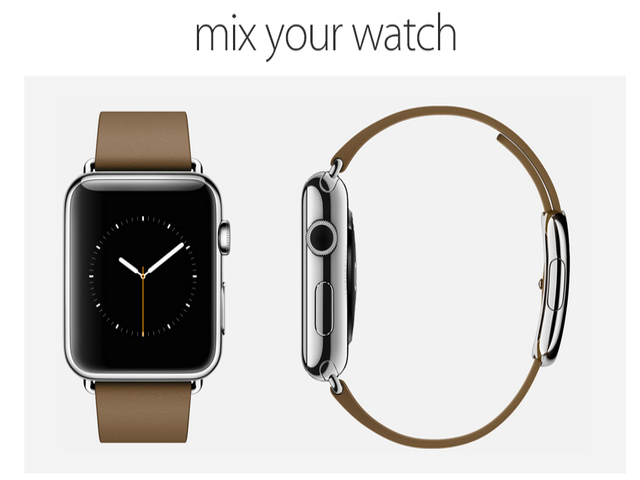 搭配全解析 能组合Apple Watch的网站