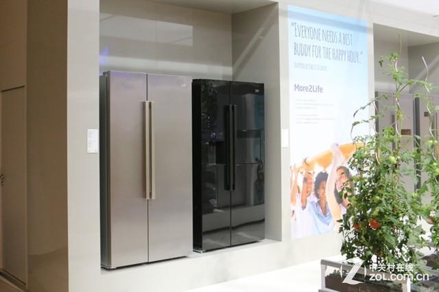 倍科新品对开门冰箱:玻璃外观惊艳亮相