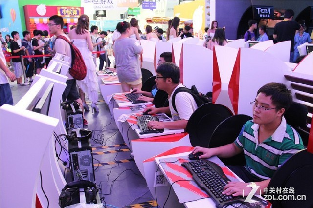美加獅專業遊戲外設成ChinaJoy焦點