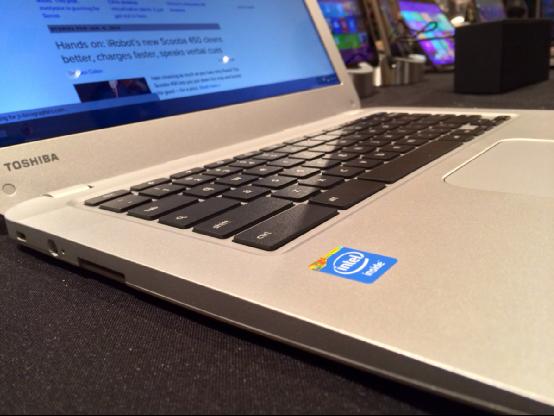 处理器升级 东芝新Chromebook 13亮相