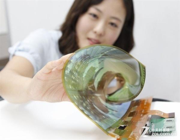 可弯曲半透明 LG Display推出新款OLED