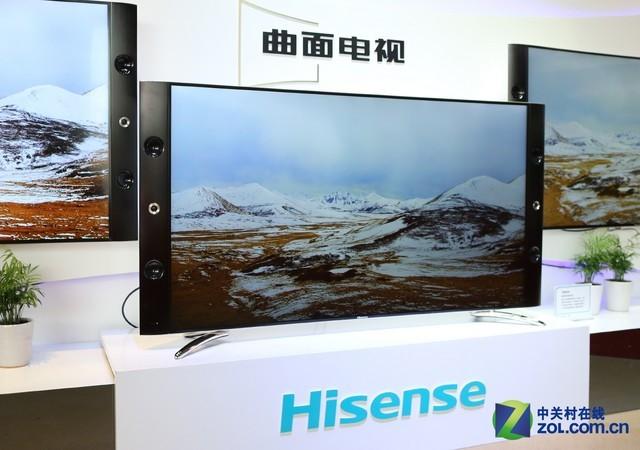 曲面/透明/触控 海信新品电视全面解析