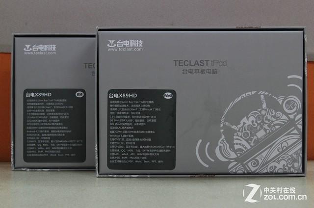 一机玩转双系统 视网膜屏台电X89HD评测