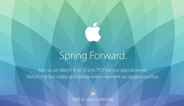 布会将于太平洋时间3月9日上午10 (指春天美国进入夏时制时应把表