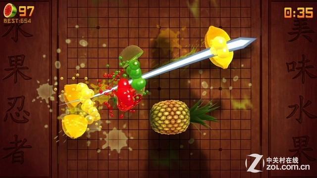 《水果忍者Kinect版2》 澳洲需分级审查