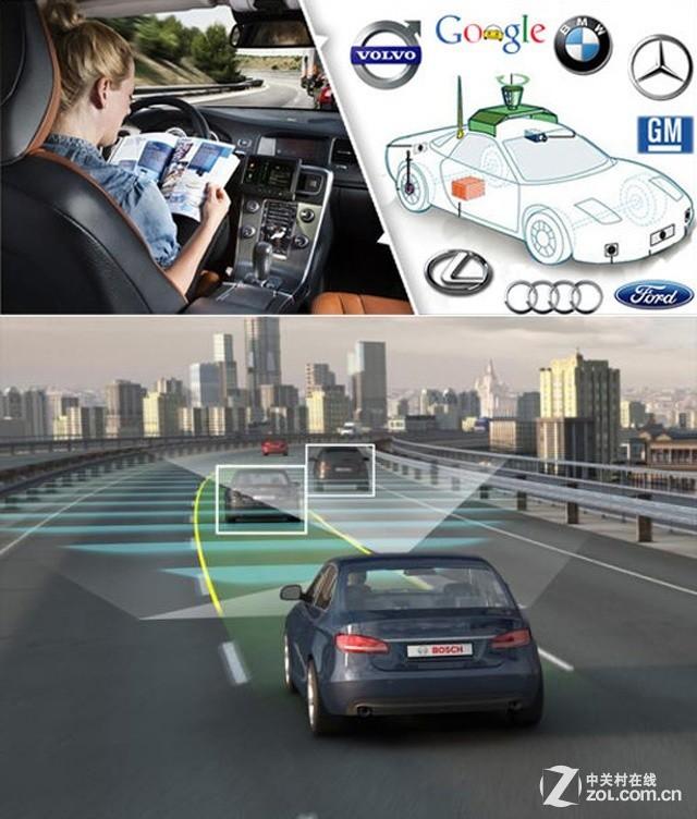 对于未来的无人驾驶的全智能化汽车,谷歌、奔驰、宝马、通高清图片