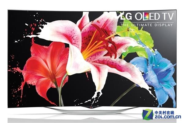 超震撼售价 LG发布新55吋曲面OLED电视