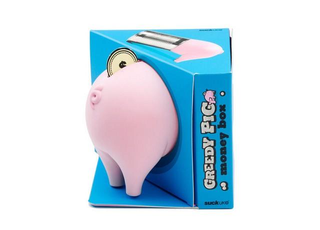 创意实用设计 超萌的贪婪小猪储蓄罐