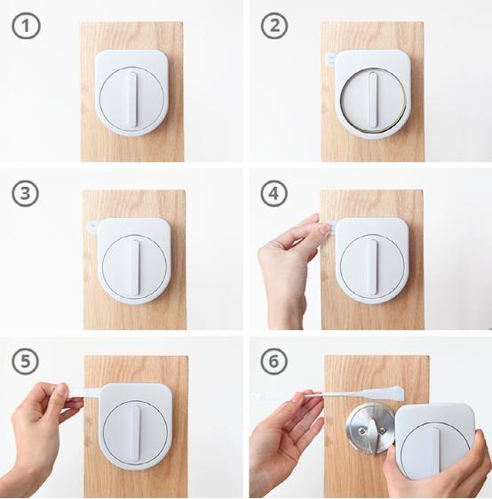 无需拆除现有门锁 智能门锁改造更简单