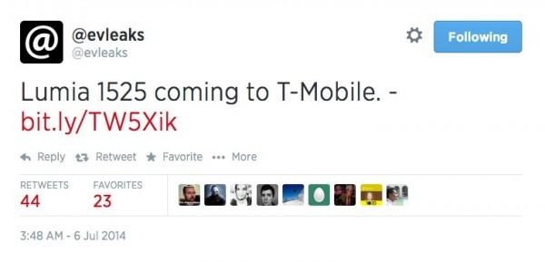 30MP+2K屏? 太阳能充电Lumia1525曝光