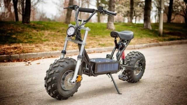 配宽大越野胎 炫酷的beast电动自行车