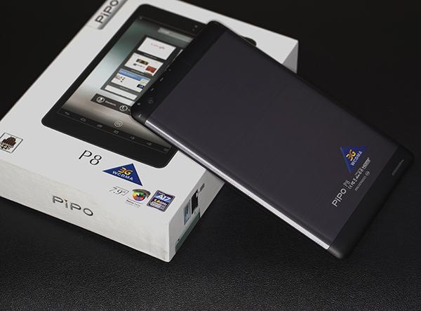 7.9寸视网膜屏  品铂3G平板P8开箱
