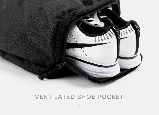 簡約設計實用功能 專業多功能健身背包