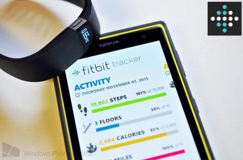 Fitbit推出首款支持WP应用的智能手环