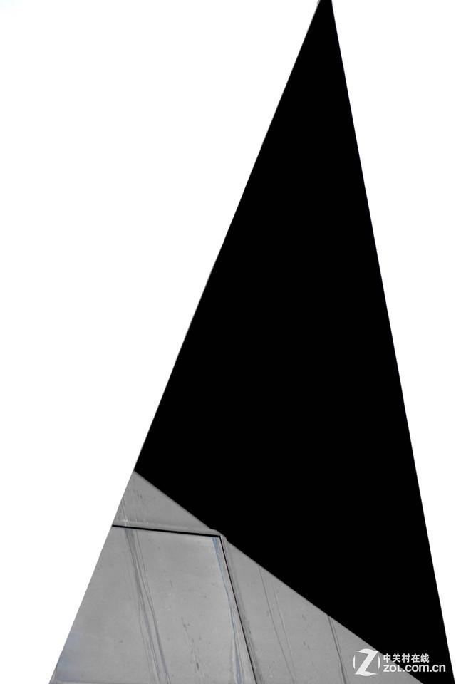 学摄影 为何/拍摄意图:这是一扇门的顶部设计,我觉得很有创意,另外觉得...