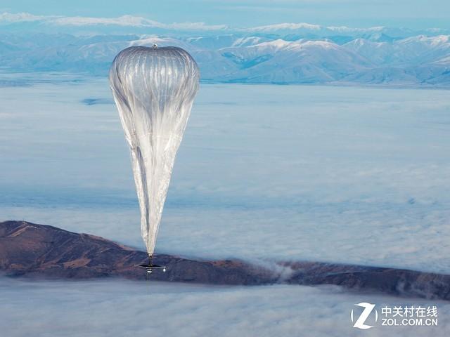 谷歌热气球开始发威 已向灾区提供网络