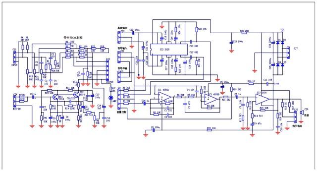 功放的电路设计一定要好