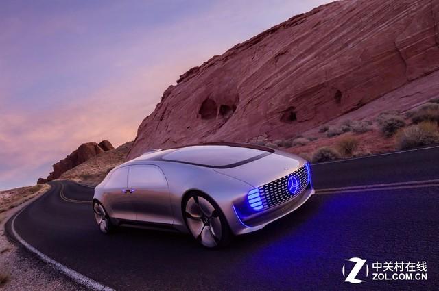 奔驰F015无人驾驶概念车-自动驾驶是亮点 2016年CES汽车科技前瞻高清图片