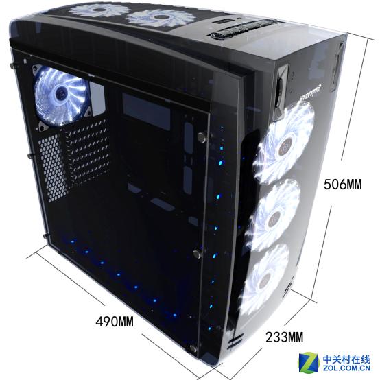 熊大熊二全敞开结构 透明机箱新玩法