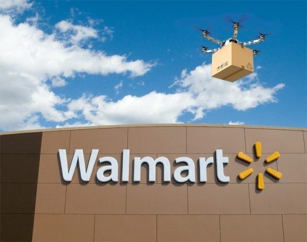 PK亚马逊?沃尔玛无人机要建空中货仓