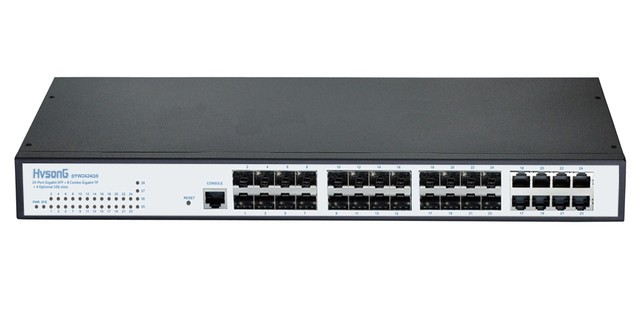 HVSONG智能光纤交换机 让光纤组网方便简单安全