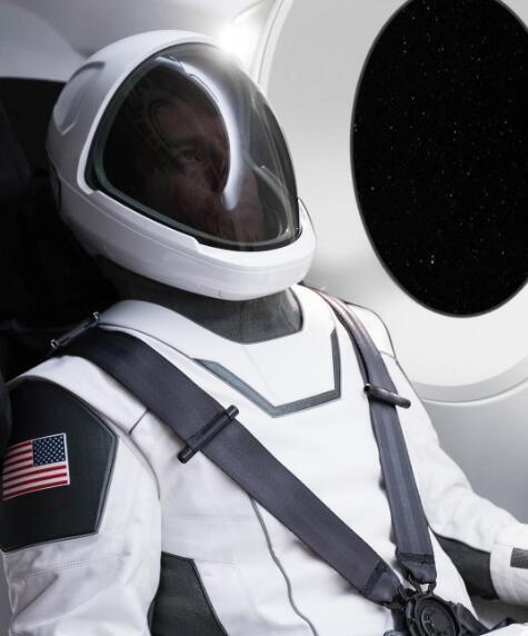 设计很潮:马斯克曝SpaceX宇航服首张照片