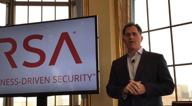 迈克尔·戴尔现身RSA 讲述公司安全策略