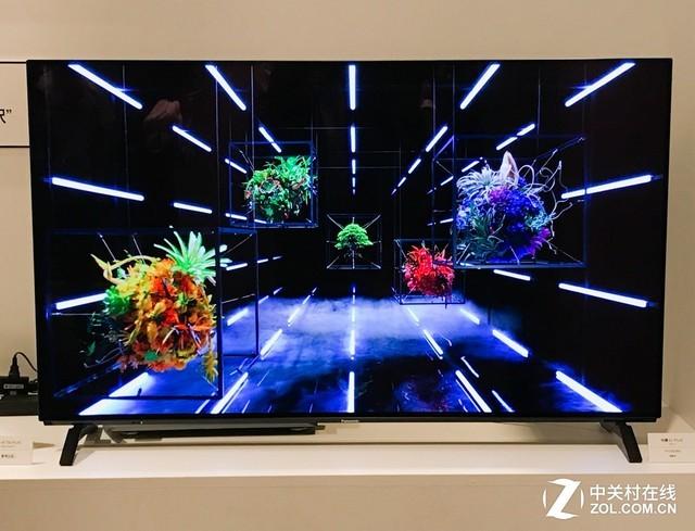 叫板索尼A1 松下在日本展示最新OLED电视
