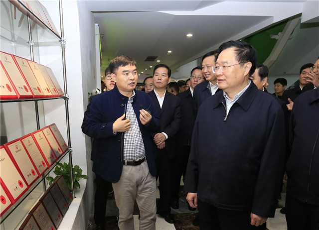 走进Wulian青海省党政代表团江苏考察智能家居