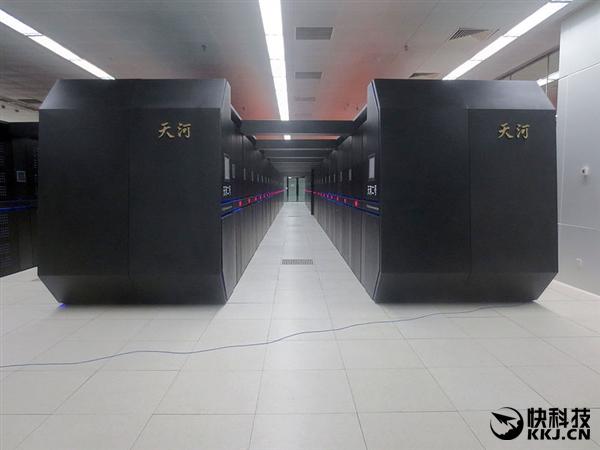 """中国""""天河三号""""开始研制:性能无敌"""