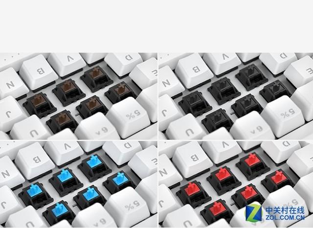 完美支持Mac ikbc G系列双子座键盘曝光