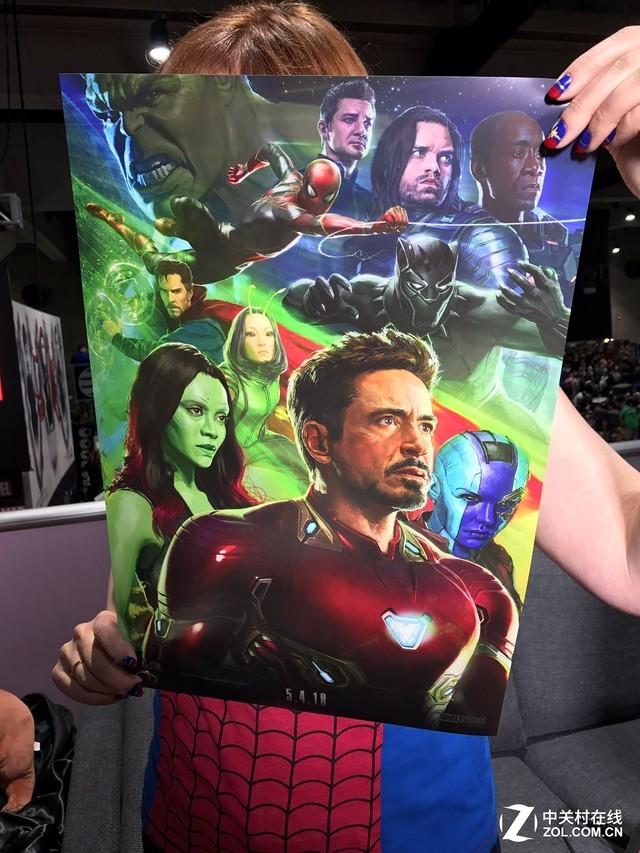 海报:钢铁侠、蜘蛛侠初遇银河护卫队