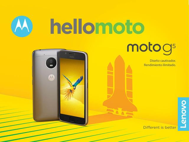 Moto G5系列宣传海报曝光 屏幕寸尺确定