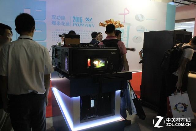 BIRTV 2015:NEC激光放映机体验人气高