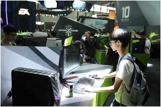 NVIDIA CJ展台实况 黑科技伸领不到来风潮流动