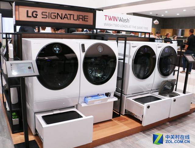 颜值与性能兼备 IFA展LG冰洗霸气外露