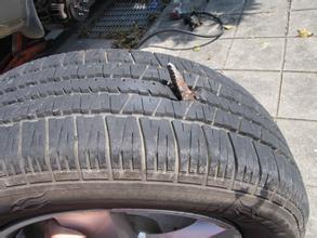 你造么轮胎出现这四种情况只能换不能修