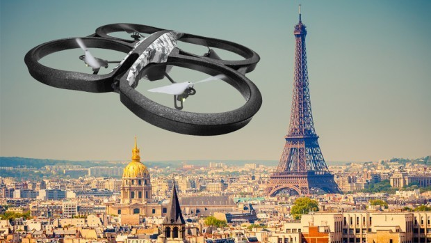 港媒:游客巴黎黑飞无人机被拘或罚60万