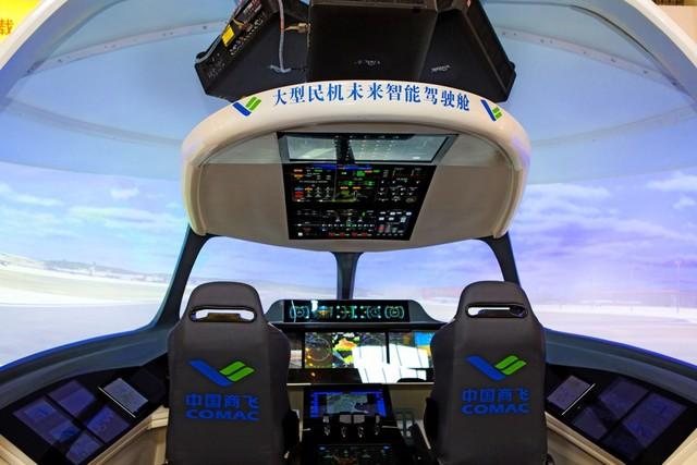 vivitek激光投影打造大型民机未来智能驾驶室