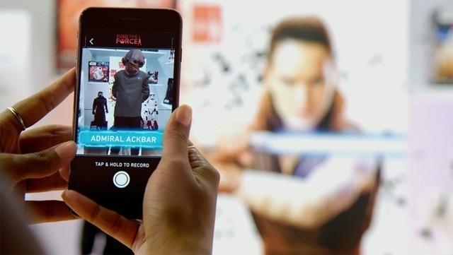 迪士尼将在苹果设备上用AR宣传星战电影