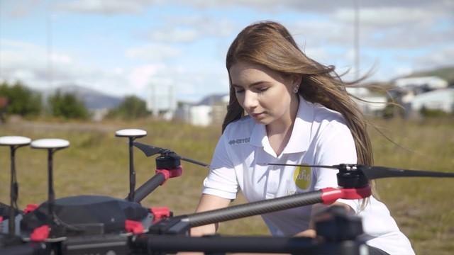 成本降低60% 冰岛Flytrex无人机送快递