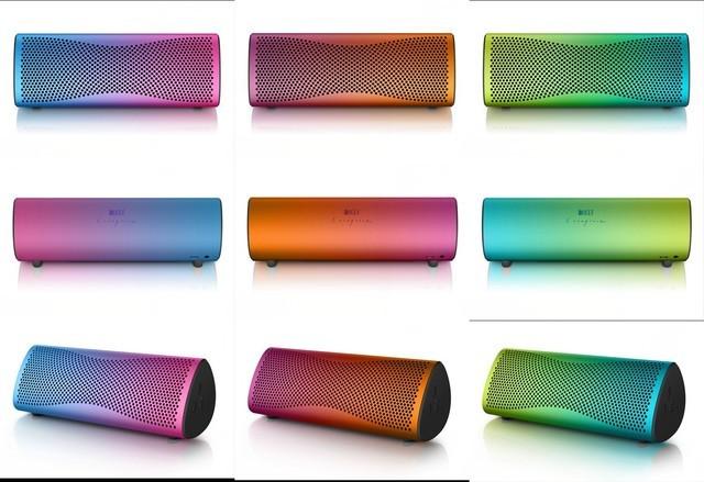 KEF推出三款全新MUO Fluid无线蓝牙音响
