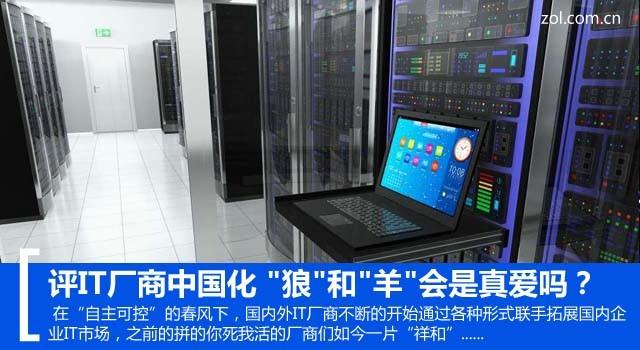 """评IT厂商中国化 """"狼""""和""""羊""""会是真爱吗?"""