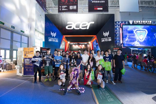 Acer宏碁热血助阵打造荣耀盛典