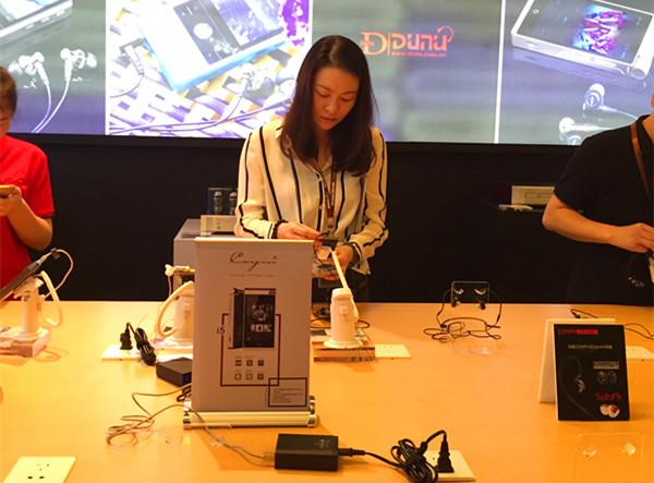 上海SIAV展Cayin N3和iDAP-6大放光彩