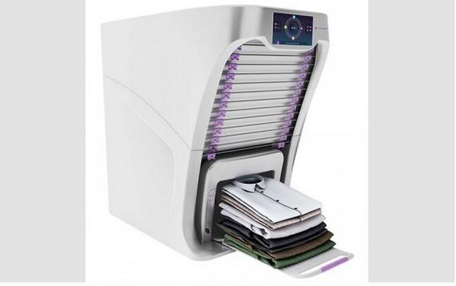 laundroid:解放双手会叠衣服的洗衣机