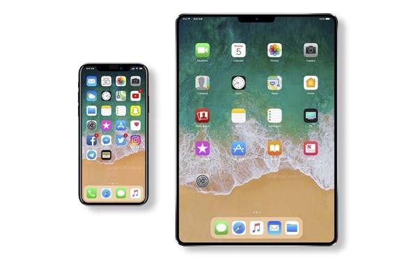 配人脸识别Face ID 苹果多款新iPad曝光