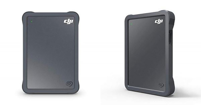 希捷和大疆合作推无人机移动硬盘