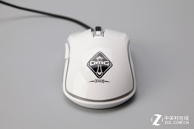 黑白统帅 雷柏V25S幻彩RGB电竞游戏鼠标OMG定制版上市
