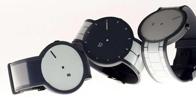 全是屏的手表 索尼FES Watch U登陆国内